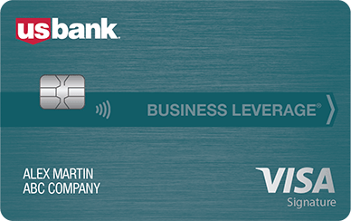 U.S. Bank Business Leverage Visa Card image