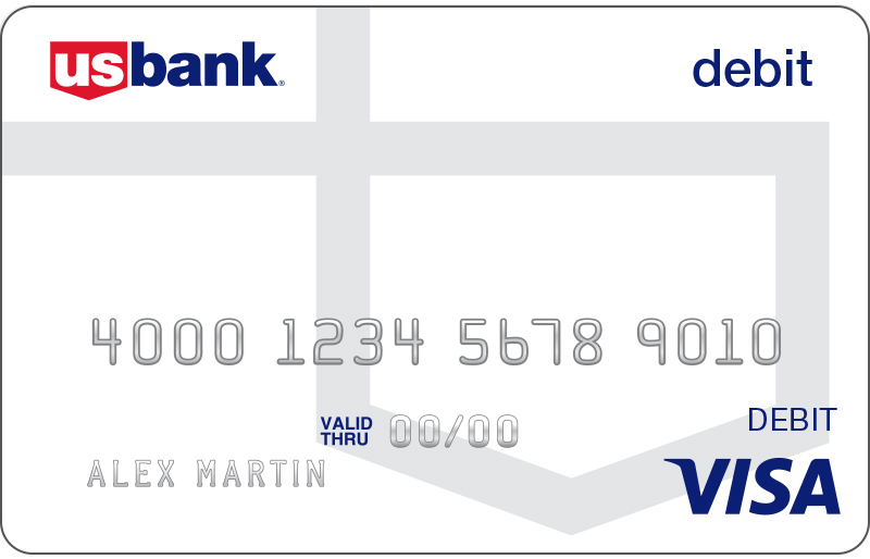US Bank Visa Debit Card  Atm And Debit Cards  US Bank