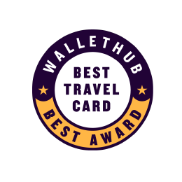 Wallethub Best Travel Card 2019 Award