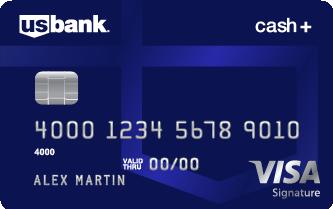 cash plus visa signature credit card