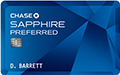 Chase Saffire Preferred Card  credit card