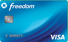 Chase Freedom Visa Card  credit card