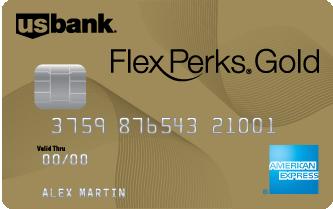 U.S. Bank FlexPerks Gold American Express  credit card