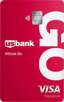 Credit Card with Rewards U.S. Bank Altitude® Go Visa card