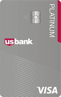Balance transfer credit card from U.S. Bank Visa® Platinum card